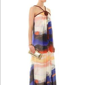 Diane Von Ferstenberg silk maxi dress. Size 4